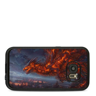 Lifeproof Galaxy S7 Fre Case Skin - Terror of the Night