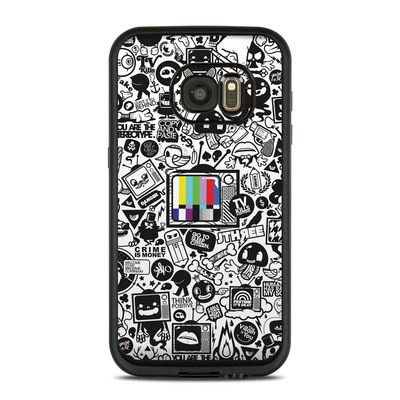 Lifeproof Galaxy S7 Fre Case Skin - TV Kills Everything