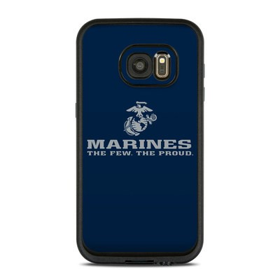 Lifeproof Galaxy S7 Fre Case Skin - USMC Blue