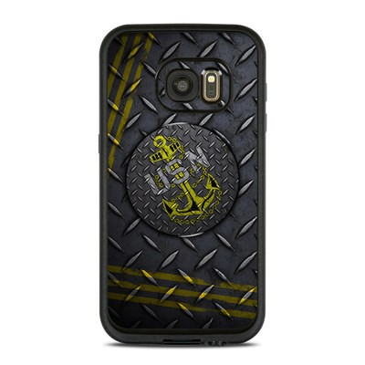 Lifeproof Galaxy S7 Fre Case Skin - USN Diamond Plate