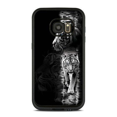 Lifeproof Galaxy S7 Fre Case Skin - White Tiger