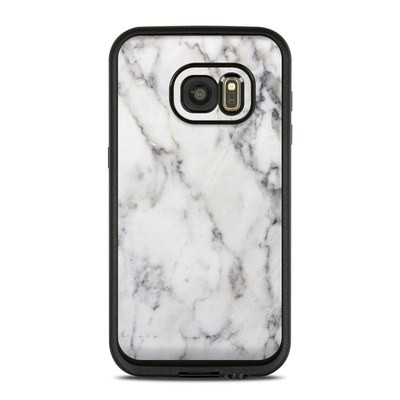 Lifeproof Galaxy S7 Fre Case Skin - White Marble