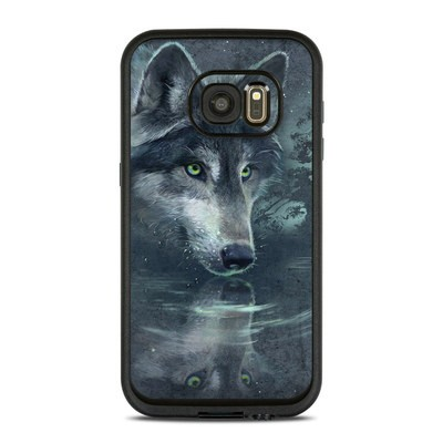 Lifeproof Galaxy S7 Fre Case Skin - Wolf Reflection