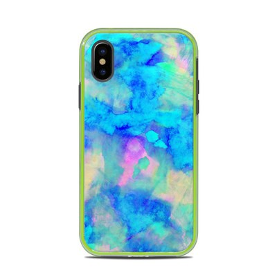 Lifeproof iPhone X Slam Case Skin - Electrify Ice Blue