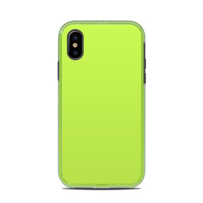 Lifeproof iPhone X Slam Case Skin - Solid State Lime