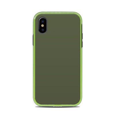 Lifeproof iPhone X Slam Case Skin - Solid State Olive Drab