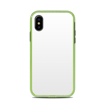 Lifeproof iPhone X Slam Case Skin - Solid State White