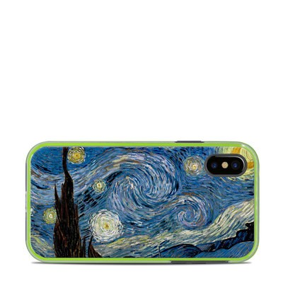 Lifeproof iPhone X Slam Case Skin - Starry Night