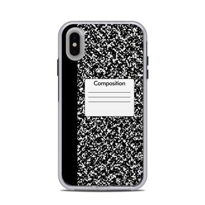 Lifeproof iPhone XS Max Slam Case Skin - Composition Notebook