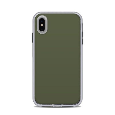 Lifeproof iPhone XS Max Slam Case Skin - Solid State Olive Drab