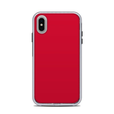 Lifeproof iPhone XS Max Slam Case Skin - Solid State Red