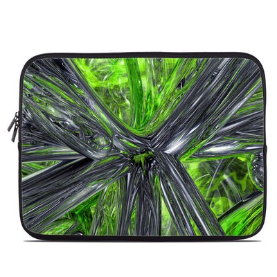 Laptop Sleeve - Emerald Abstract