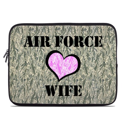 Laptop Sleeve - Air Force Wife