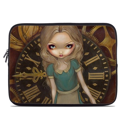 Laptop Sleeve - Alice Clockwork