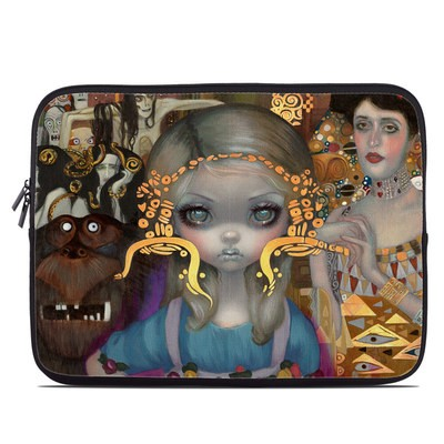 Laptop Sleeve - Alice in a Klimt Dream
