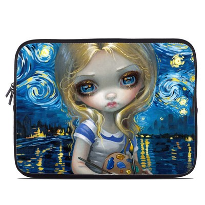 Laptop Sleeve - Alice in a Van Gogh