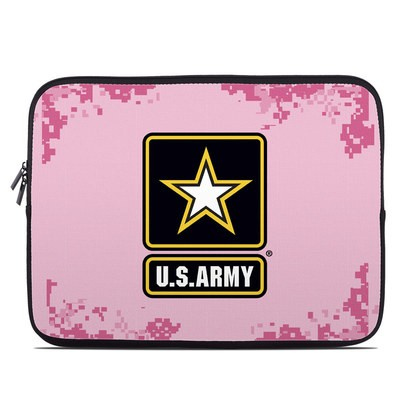 Laptop Sleeve - Army Pink