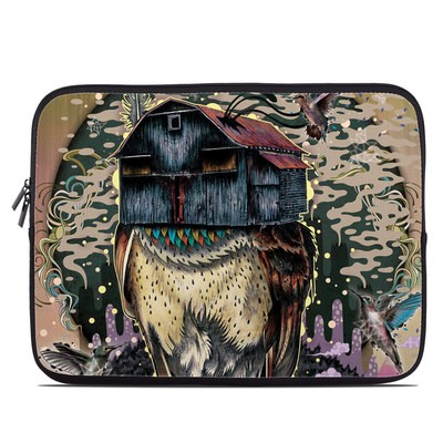 Laptop Sleeve - Barn Owl Fortune