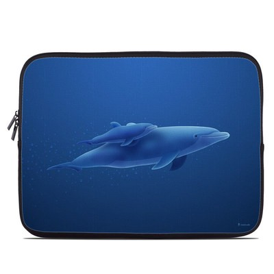Laptop Sleeve - Blue Dolphins