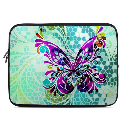 Laptop Sleeve - Butterfly Glass