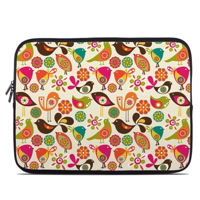 Laptop Sleeve - Bird Flowers