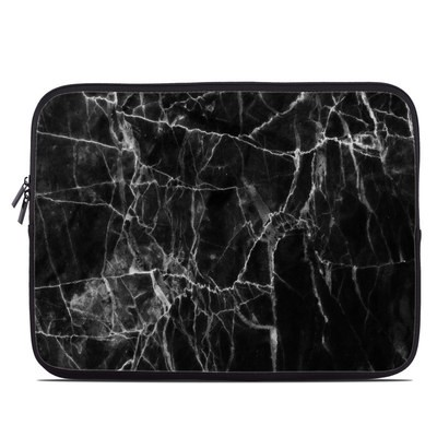 Laptop Sleeve - Black Marble