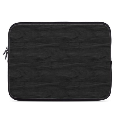 Laptop Sleeve - Black Woodgrain