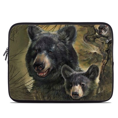 Laptop Sleeve - Black Bears
