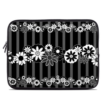Laptop Sleeve - Black Retro