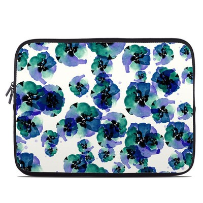Laptop Sleeve - Blue Eye Flowers