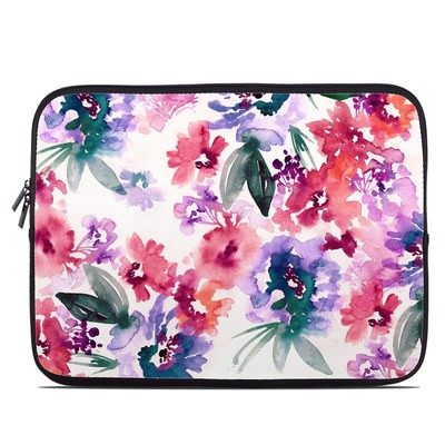 Laptop Sleeve - Blurred Flowers