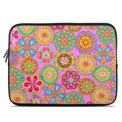 Laptop Sleeve - Bright Flowers