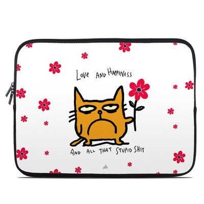 Laptop Sleeve - Catwad Happy