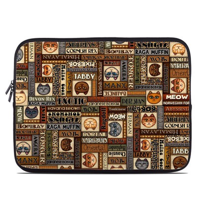 Laptop Sleeve - Cat Breeds