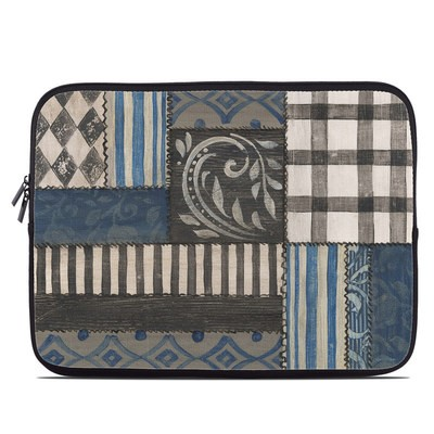 Laptop Sleeve - Country Chic Blue