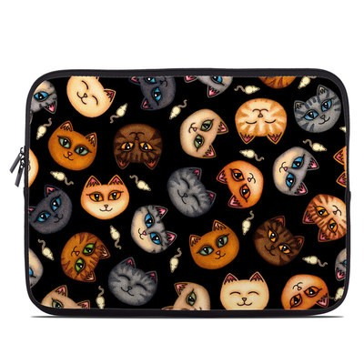 Laptop Sleeve - Cat Faces