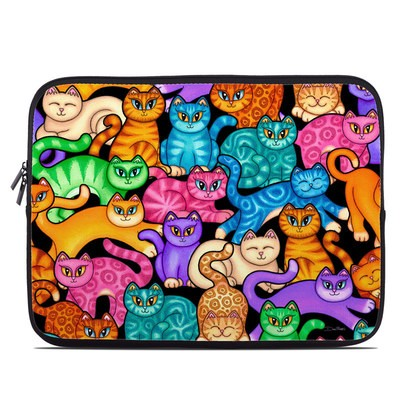 Laptop Sleeve - Colorful Kittens