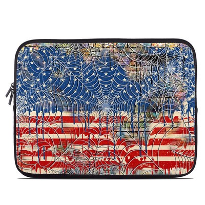 Laptop Sleeve - Cobweb Flag