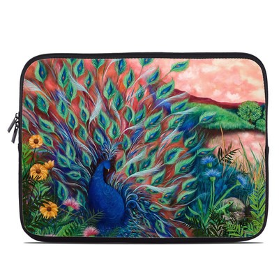 Laptop Sleeve - Coral Peacock