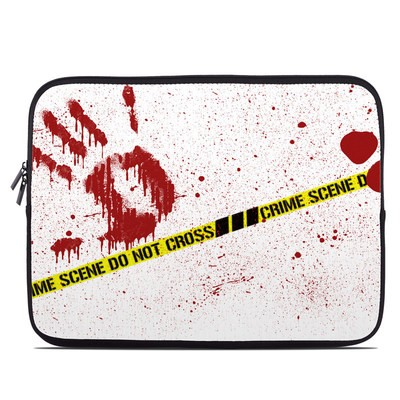 Laptop Sleeve - Crime Scene Revisited