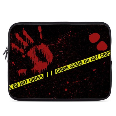 Laptop Sleeve - Crime Scene