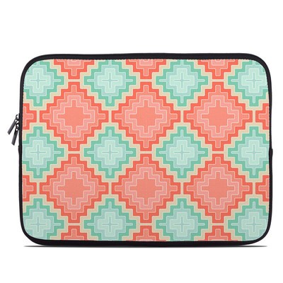 Laptop Sleeve - Coral Diamond