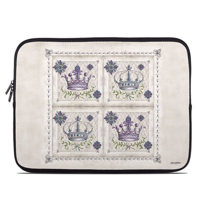 Laptop Sleeve - Purple Crown