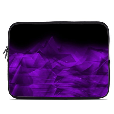 Laptop Sleeve - Dark Amethyst Crystal