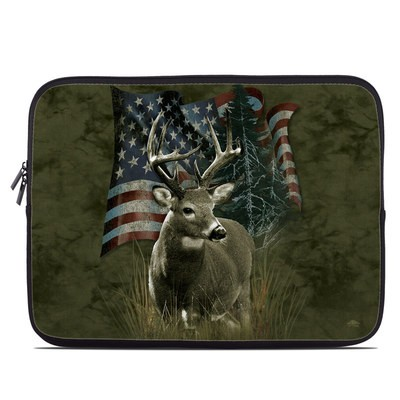 Laptop Sleeve - Deer Flag