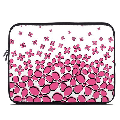 Laptop Sleeve - Daisy Field - Pink