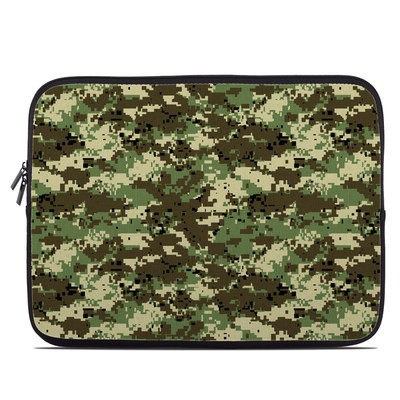 Laptop Sleeve - Digital Woodland Camo