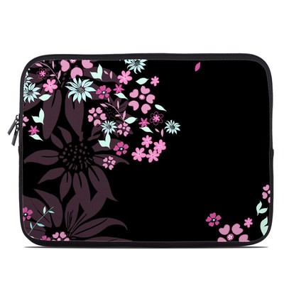 Laptop Sleeve - Dark Flowers