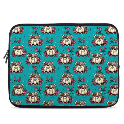 Laptop Sleeve - Bulldogs and Roses