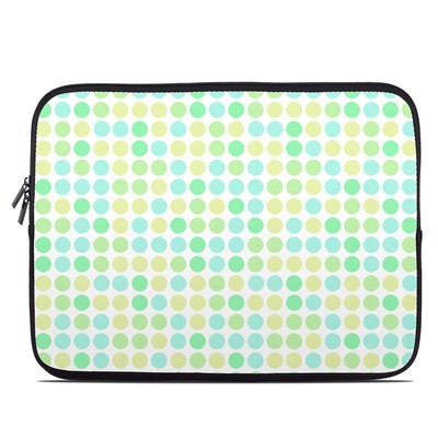 Laptop Sleeve - Big Dots Mint